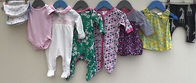 Baby Girls Bundle 0-3 Miniclub Baby Gear TU Next George JoJo Maman Bebe <H8111