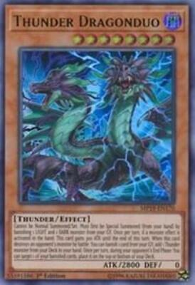 Yugioh Thunder Dragonduo MP19-EN170 Ultra Rare 1st Edition NM