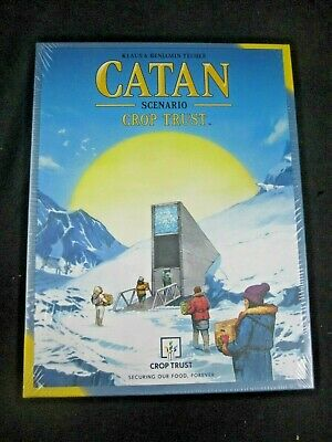 CATAN Scenario:  CROP TRUST - Expansion Set Game BRAND NEW SEALED #CN3126