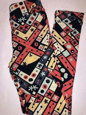 (BoxFF) LuLaRoe Kids Leggings L/XL New Navy Black Gray Yellow Pink Floral