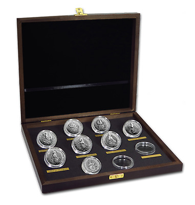 2016-2020 Great Britain 8-Coin 2 oz Silver Queen's Beasts Set - SKU#198829
