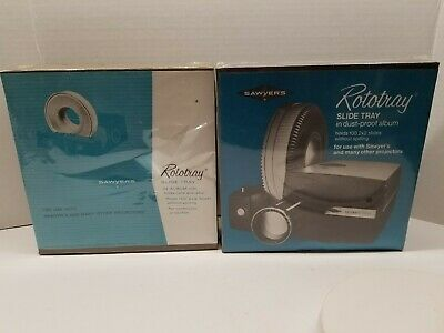Sawyers rototray Slide Carousel 2x2 100 Slides Lot Of 2  sealed #2