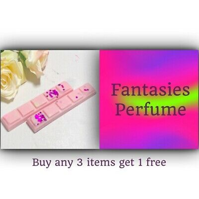 Fantasy-Perfume Designer Soy Wax Melt Bar HIGHLY SCENTED-scented Wax Melts