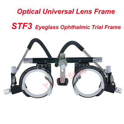 STF3 Eyeglass Ophthalmic Trial Frame Optical Universal Lens Frame F Vision Care