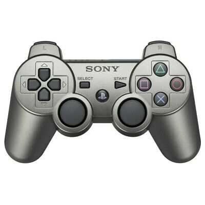 PS3 official DualShock 3 Wireless pad metallicgrey [Sony] great condition