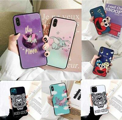 Fashion Brand New Designer Phone Glass Case Cover For iPhone 11 Pro MAX 8 6 7 XR