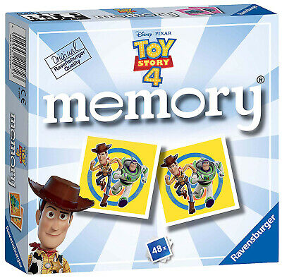Ravensburger Toy Story 4 Memory Skill Match Game Disney Pixar Cards Fun Picture