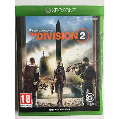 The Division 2 XBOX ONE New and Sealed (Tom Clancys)