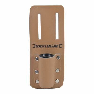 Silverline 783162 Scaffold Spanner Tool Belt Holder Podger Single Frog Leather