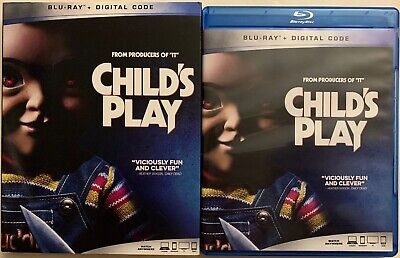 Childs Play 2019 Blu Ray + Slipcover Sleeve Free World Wide Shipping Buy It Now
