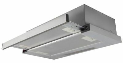 PKM UBH6002-2H 60cm Installation Hotte Extensible Structure Trappe Inox