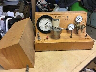 PMS Instrument Company Commercial Pressure Chamber Monitor System 4000 psi