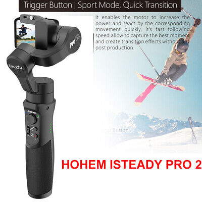 Hohem iSteady Pro 2 3-Axis Gimbal Stabilizing for OSM SONY RX0 DJI Action Camera
