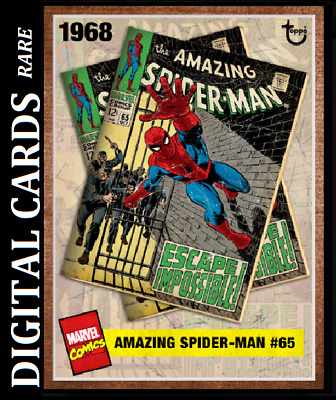 Topps Marvel Collect Card Trader Archives Amazing Spider-Man #65 Week 21