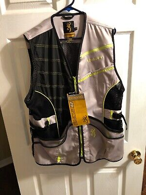 2X Blue Browning Ace Shooting Vest