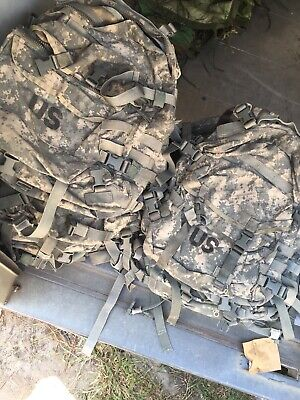 Us Military Army Acu Ucp Molle Ii Patrol Assault Pack 3-Day Mission Backpack