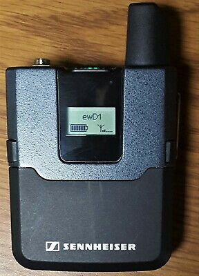 Sennheiser Evolution ew D1 Digital Wireless Mic Bodypack Transmitter SK-D1