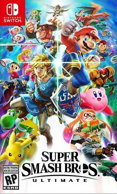 NEW Super Smash Bros. Ultimate Nintendo Switch -Canadian Seller-