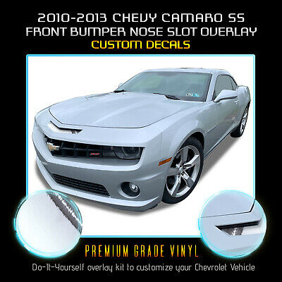 2010 2011 2012 2013 CamaroRan Air  Mail Slot Blackout Decal Graphics RS SS ZL1