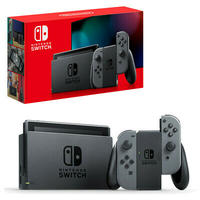 NEW Nintendo Switch 32GB Console Grey Joy Cons New Model  Ships Free Anywhere