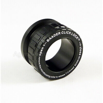 "Baader 1.25"" Click-Lock Eyepiece Adapter/Visual Back w/ T-2 Thread T2-08 2458100"