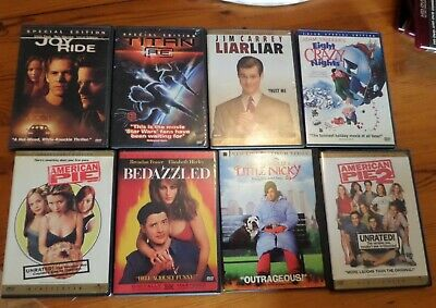 DVD lot of 8