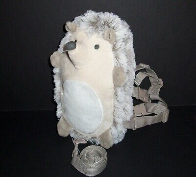Goldbug Hedgehog Harness Buddy Safety Plush Stuffed Animal Keeps Kids Close