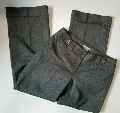 Ann Taylor  Lower On Waist Signature Fit Dress Pants Size 10P Grey Color.#1104