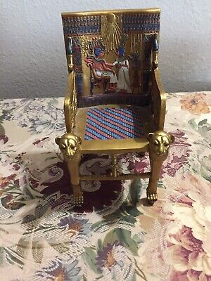 """2001 Summit Collection Egyptian  7 1/2"""" Throne"""