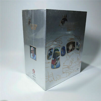 Ultimate Hayao Miyazaki Studio Ghibli 48 DVD9 Box Set Collector's Edition New