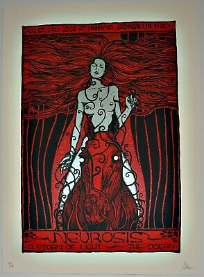 Neurosis Concert Poster by Malleus