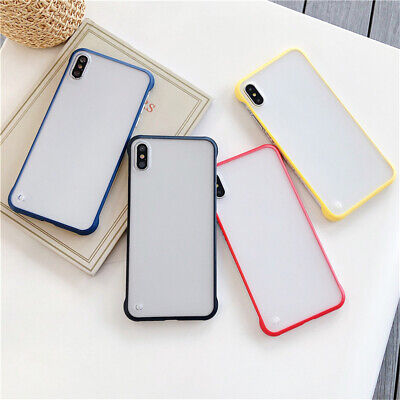 Shockproof Phone Case Frameless Protective Cover Matte Slim For iPhone XS Max