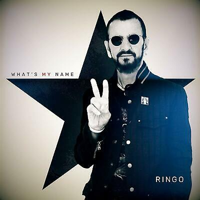 RINGO STARR 'WHAT'S MY NAME' CD (25th October 2019)