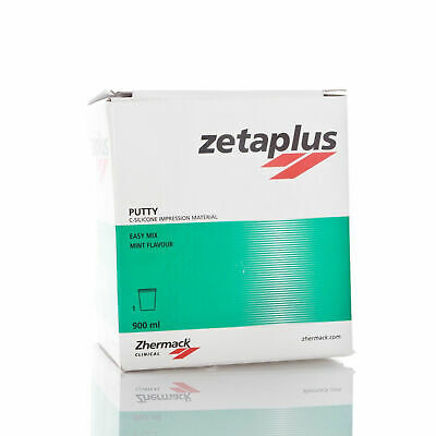 Zhermack Zetaplus Putty C-Silicone Dental Impression Material 900ml Jar NEW