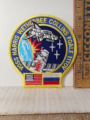NASA Space Shuttle Discovery STS-63 Mission Patch  BIGOF3.
