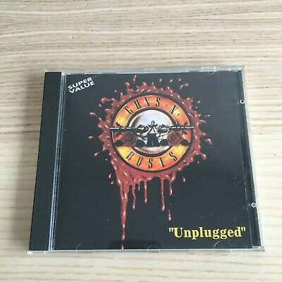 Guns N' Roses - Unplugged - CD Album Live - 1994 Italy On Stage Records - RARE