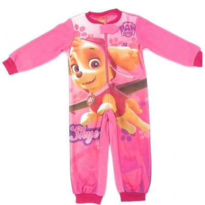 Paw Patrol Girls Fleece Body Sleep Suit Featuring Skye