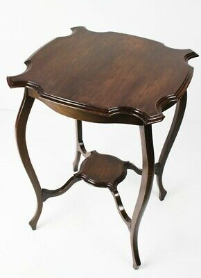 Antique Edwardian Mahogany Occasional Table - FREE Shipping [5518]