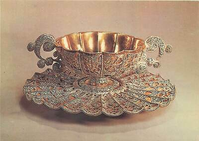 Europe Asia Russia Postcard Tureen St Petersburg silver and gold