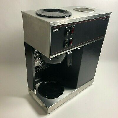 BUNN VPR Series Commercial 12 Cup Coffee Maker Machine VPR-B WORKS TESTED