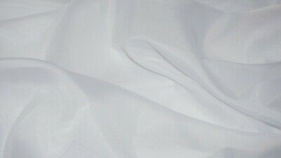 Premium Quality White Voile Curtain Net Fabric Wedding Decor Drapes 150cm Wide