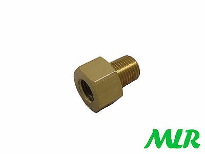 1/4Npt Male - M16X1.5 Female Adaptor For Sytec Bullet Fuel Filters Asa10 Bce
