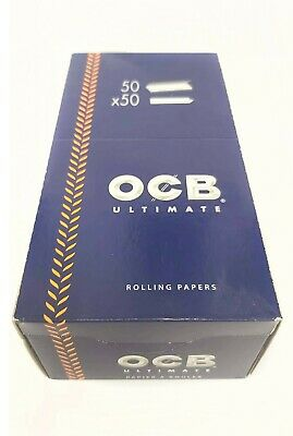 OCB ULTIMATE Rolling Papers 50 Booklets FULL BOX