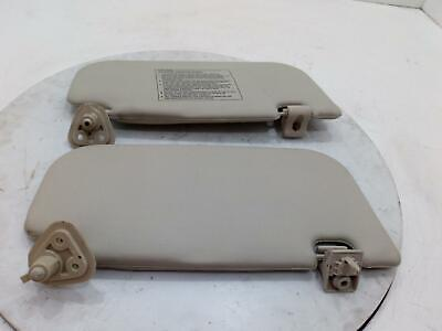 Hyundai I10 Mk1 Pair Left & RIght Grey Front Sun Visors With The Clips