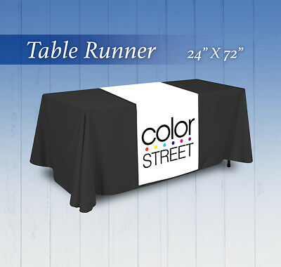 "Color Street Table Runner  - 24""x72"" or 36""x72"" Ships in 1 Day"