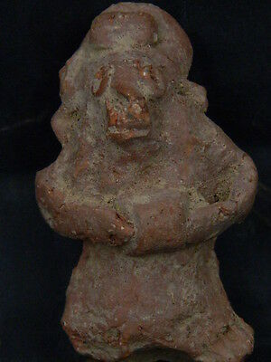 Ancient Teracotta Figure Indus Valley 800 BC No Reserve #STC410