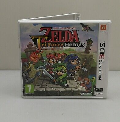 The Legend Of Zelda Tri Force Heroes Nintendo 3Ds Xl Boxed