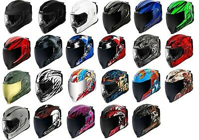 Icon Airflite Full Face DOT Motorcycle Helmet - Free Exchanges & Returns