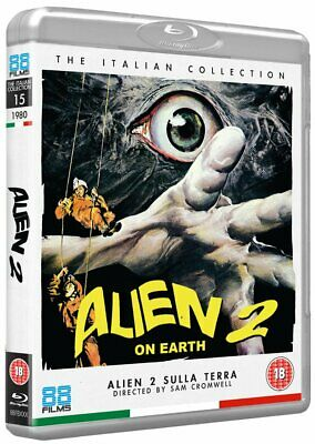 Alien 2 On Earth - Blu-Ray - Uncut Collector's Edition - Sam Cromwell