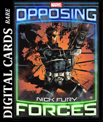 Topps Marvel Collect Card Trader Opposing Forces Nick Fury Vs Baron Von Strucker